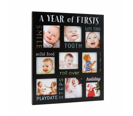 Pearhead Fotoframe Baby's Firsts krijtbord[2/6]