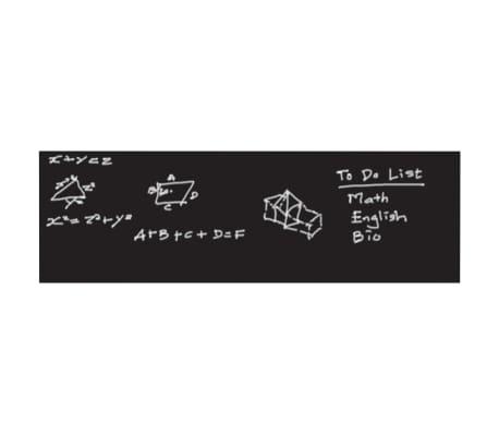 WALPLUS Chalkboard Decoration Sticker 200x45cm Black