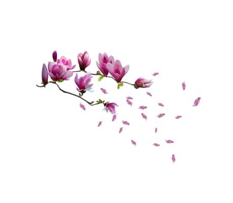 WALPLUS Autocollant de décoration de maison Fleur magnolia 130x110 cm