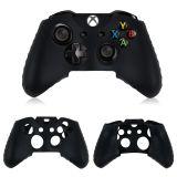 Silikonöverdrag till handkontroll, svart, Xbox One