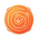 Outward Hound Ät-långsamt matskål för hundar Slo Bowl orange 1577