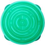 Outward Hound Ät-långsamt matskål för hundar Slo Bowl grönblå 1578