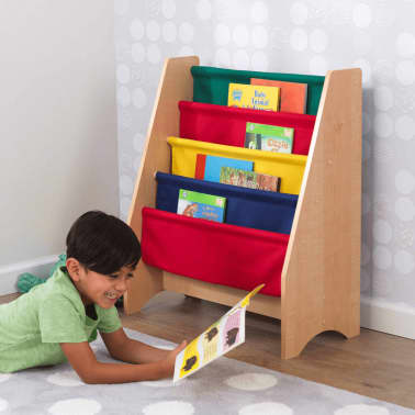 kidkraft b cherregal f r kinder mehrfarbig 61 x 29 9 x 71 1 cm 14226 g nstig kaufen. Black Bedroom Furniture Sets. Home Design Ideas