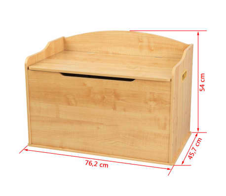 KidKraft Boîte à jouets Austin Marron 76,2 x 45,7 x 54 cm 14953[10/10]