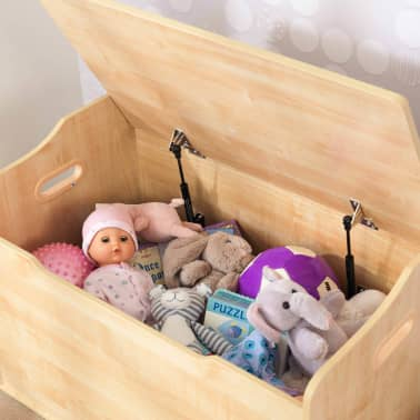 KidKraft Boîte à jouets Austin Marron 76,2 x 45,7 x 54 cm 14953[5/10]