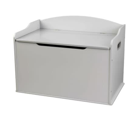KidKraft Boîte de jouets Austin Brouillard gris 76,2x45,72x53,98 cm