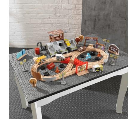 kidkraft rennstrecke 50 tlg thunder hollow disney pixar. Black Bedroom Furniture Sets. Home Design Ideas