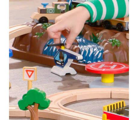 KidKraft Ensemble de train de montagne 61 pièces Bois 17826[6/11]