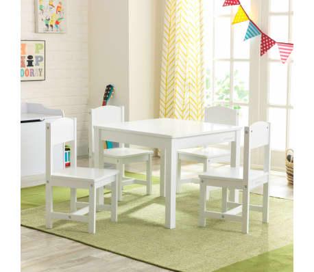 KidKraft Table de Ferme avec 4 Chaises Tout petits Enfants Salle de Jeux | eBay