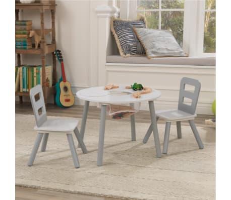 acheter kidkraft ensemble de table de rangement et chaises pour enfants 27066 pas cher. Black Bedroom Furniture Sets. Home Design Ideas