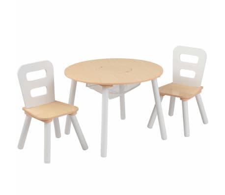 KidKraft Ensemble de table de rangement et chaises pour enfants 27027[1/9]