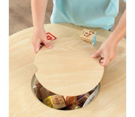 KidKraft Ensemble de table de rangement et chaises pour enfants 27027[7/9]