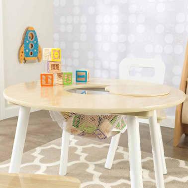 KidKraft Ensemble de table de rangement et chaises pour enfants 27027[5/9]