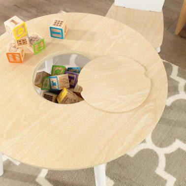 KidKraft Ensemble de table de rangement et chaises pour enfants 27027[6/9]
