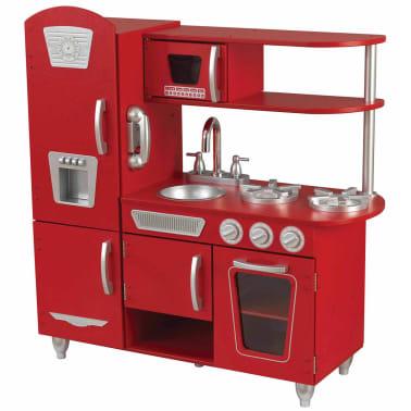 KidKraft Cuisine jouet Vintage 83,8 x 34,3 x 90,8 cm Rouge 53173[1/9]