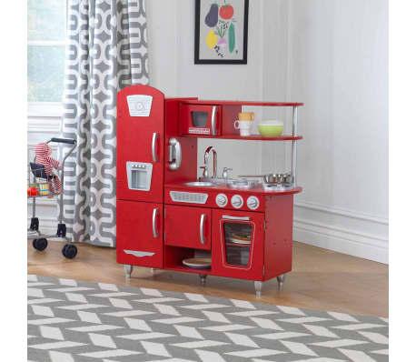 KidKraft Cuisine jouet Vintage 83,8 x 34,3 x 90,8 cm Rouge 53173[2/9]