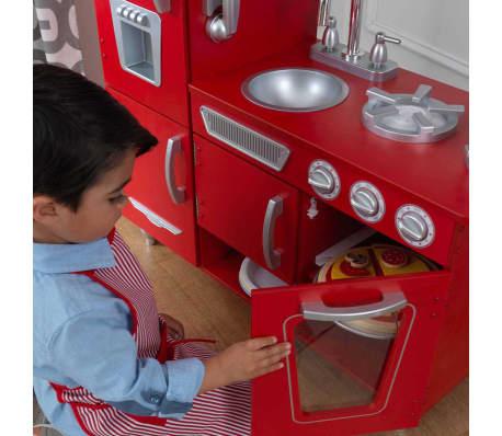 acheter kidkraft cuisine vintage rouge pas cher. Black Bedroom Furniture Sets. Home Design Ideas
