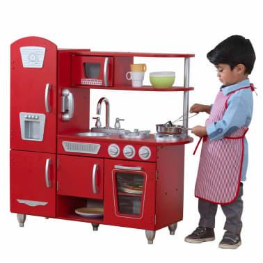 KidKraft Cuisine jouet Vintage 83,8 x 34,3 x 90,8 cm Rouge 53173[3/9]