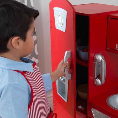 KidKraft Cuisine jouet Vintage 83,8 x 34,3 x 90,8 cm Rouge 53173[8/9]
