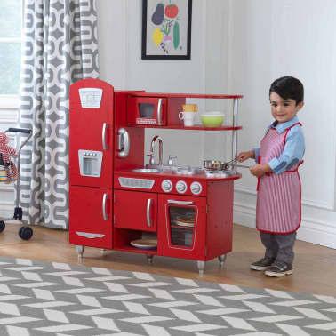 KidKraft Cuisine jouet Vintage 83,8 x 34,3 x 90,8 cm Rouge 53173[9/9]