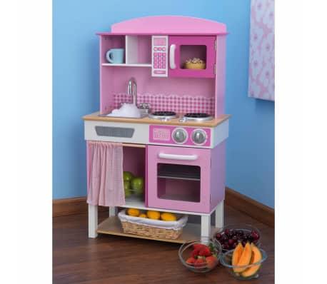 KidKraft Cuisine jouet Home Cookin' 61 x 34 x 101 cm Rose 53198[2/4]