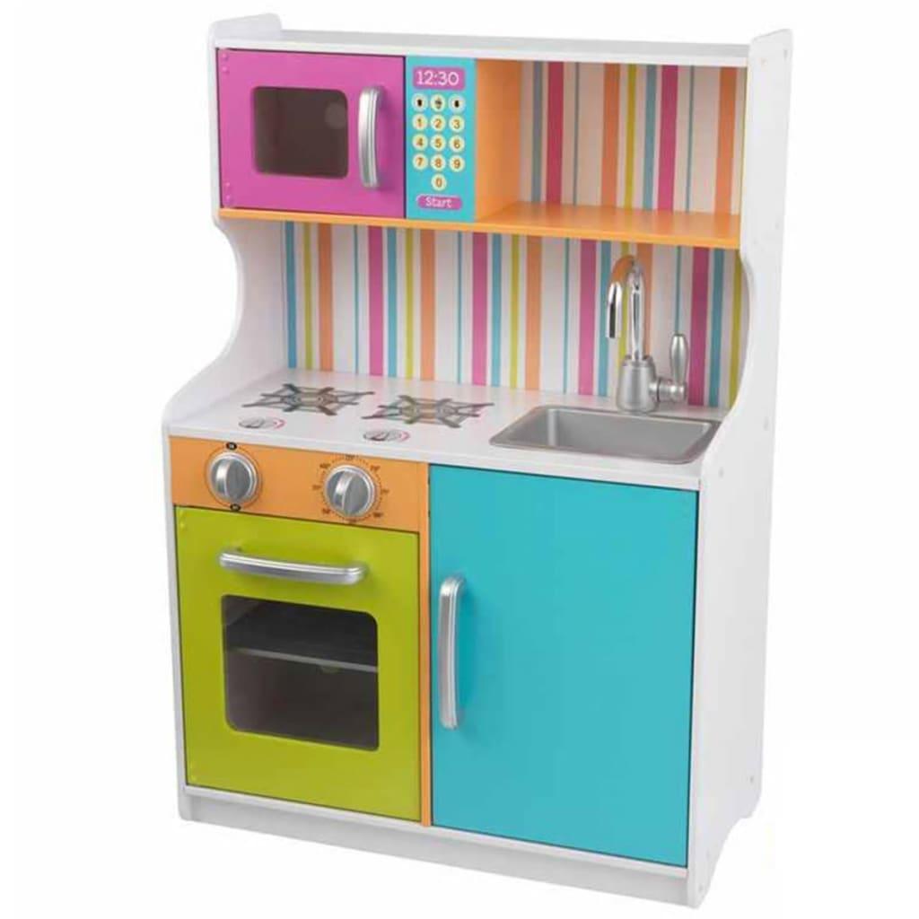 Afbeelding van KidKraft Speelgoed keuken Bright Toddler 60x30,5x87,9 cm 53378