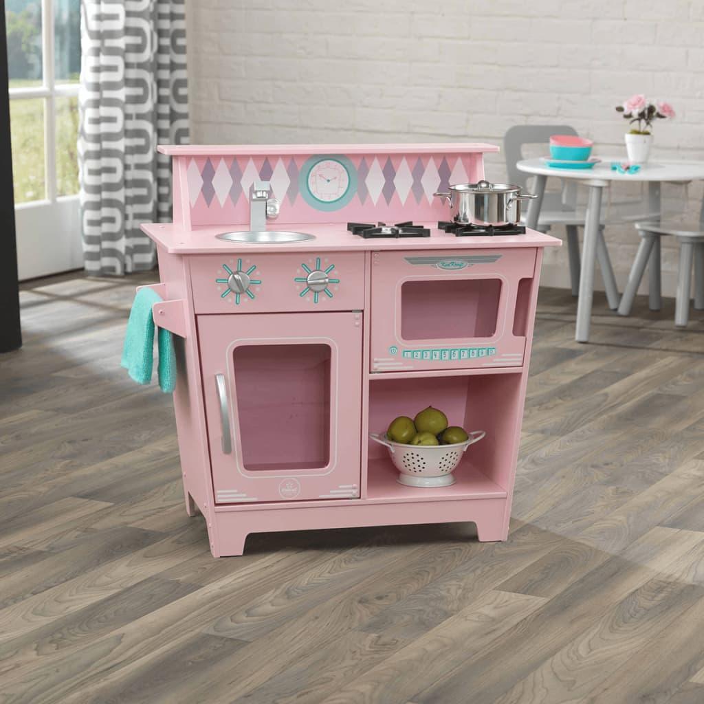 KidKraft Speelgoed keuken 66,7x35x64,1 cm roze 53383