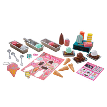 KidKraft Heladería de juguete 42 piezas[1/2]