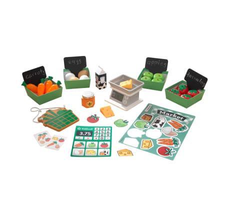 KidKraft Pack de jeu du marché fermier 34 pcs
