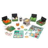 KidKraft Mercado agrícola de juguete 34 piezas