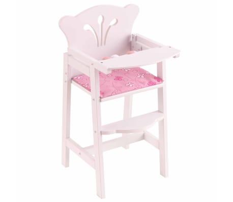 KidKraft Chaise haute de poupée Lil' 34,3 x 31 x 57,8 cm Blanc 61101[1/7]
