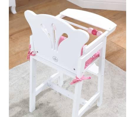 KidKraft Chaise haute de poupée Lil' 34,3 x 31 x 57,8 cm Blanc 61101[5/7]