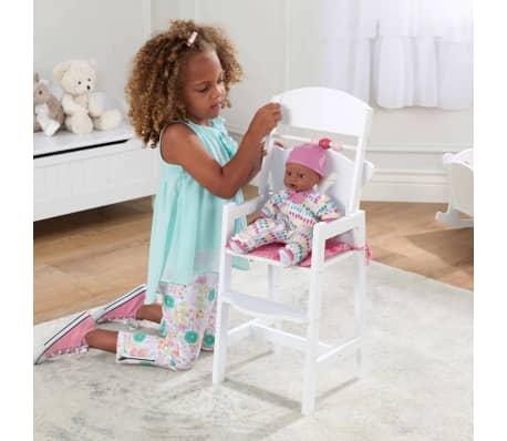 KidKraft Chaise haute de poupée Lil' 34,3 x 31 x 57,8 cm Blanc 61101[7/7]