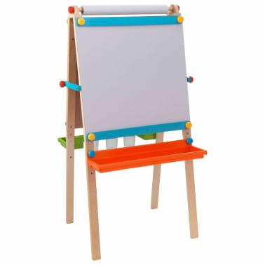 kidkraft kinder staffelei mit papierrolle holz 62026 g nstig kaufen. Black Bedroom Furniture Sets. Home Design Ideas
