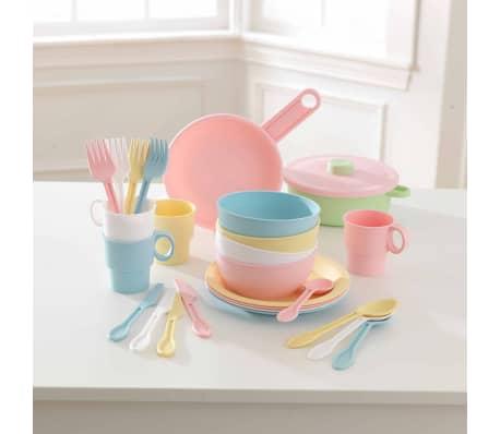 KidKraft Ensemble de jouets de vaisselle 27 pcs Pastel 63027[2/5]