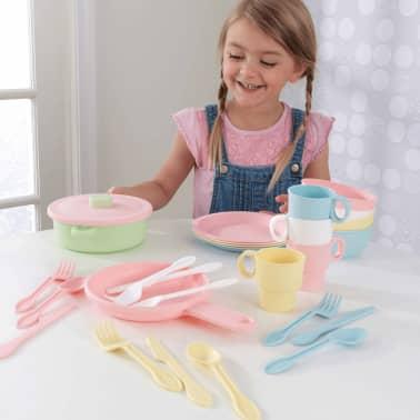 KidKraft Ensemble de jouets de vaisselle 27 pcs Pastel 63027[5/5]