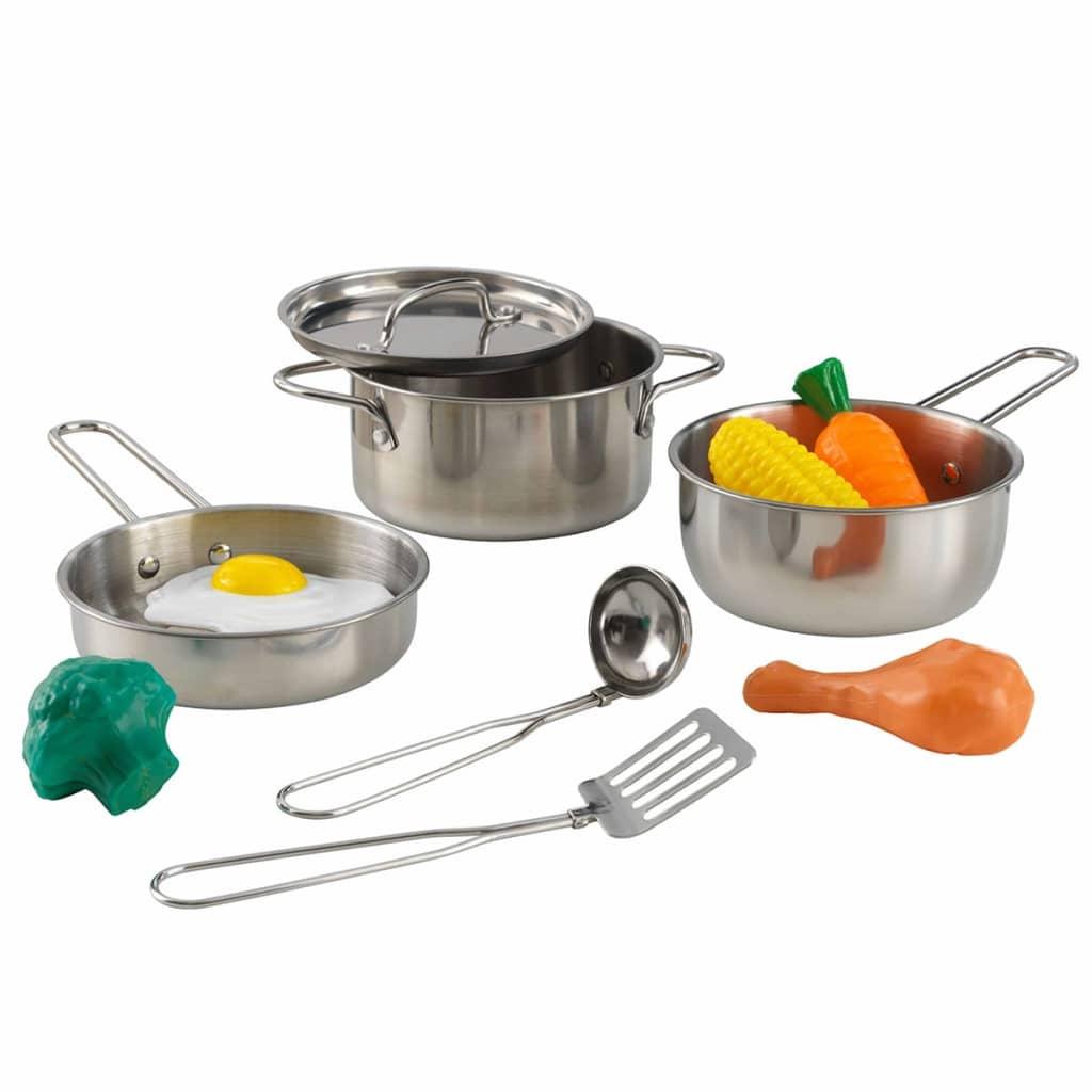 KidKraft 10-deler kokekar og lekemat 63186
