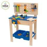 KidKraft Speelgoed werkbank met gereedschap 54,6x37,5x80 cm 63329
