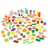 KidKraft Ensemble de jeu d'aliments Tasty Treats 115 pcs 63330