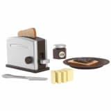 KidKraft Toasterset 8-teilig Braun 63373