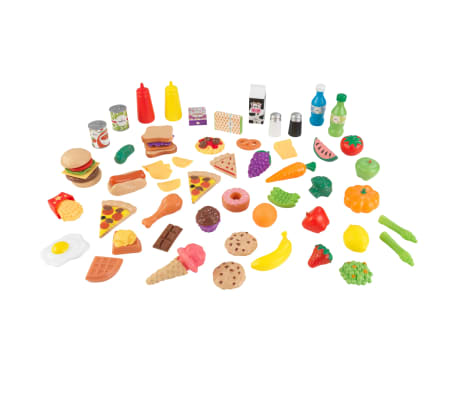 KidKraft Alimentos de juguete 65 piezas
