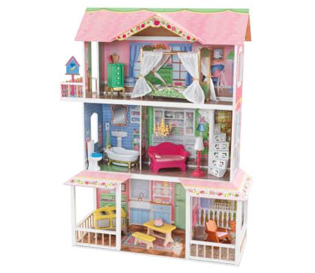 KidKraft Maison de poupées à 3 étages Sweet 88,39 x 33,02 x 111,76 cm