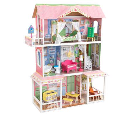 KidKraft Casa de muñecas 3 pisos Sweet Savannah 88,39x33,02x111,76 cm[2/11]