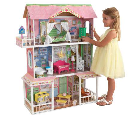KidKraft Casa de muñecas 3 pisos Sweet Savannah 88,39x33,02x111,76 cm[4/11]