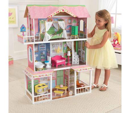 KidKraft Casa de muñecas 3 pisos Sweet Savannah 88,39x33,02x111,76 cm[10/11]