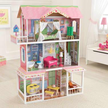 KidKraft Casa de muñecas 3 pisos Sweet Savannah 88,39x33,02x111,76 cm[11/11]
