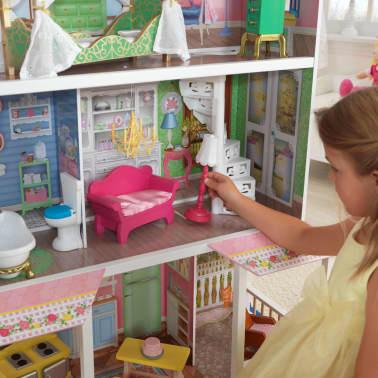 KidKraft Casa de muñecas 3 pisos Sweet Savannah 88,39x33,02x111,76 cm[5/11]