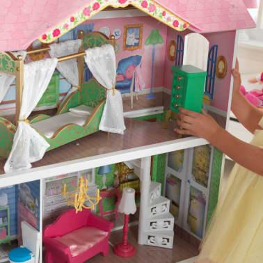 KidKraft Casa de muñecas 3 pisos Sweet Savannah 88,39x33,02x111,76 cm[7/11]