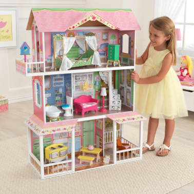 KidKraft Casa de muñecas 3 pisos Sweet Savannah 88,39x33,02x111,76 cm[8/11]