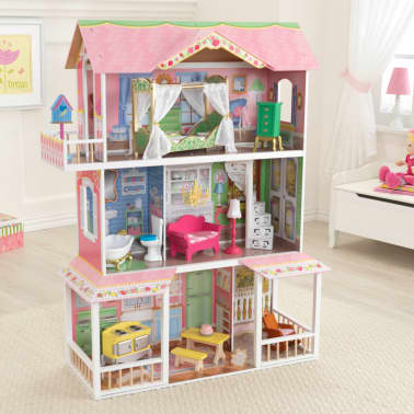 KidKraft Casa de muñecas 3 pisos Sweet Savannah 88,39x33,02x111,76 cm[9/11]
